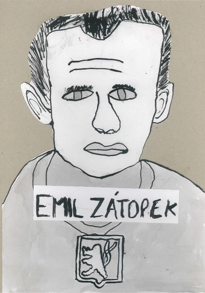 Emil Zátopek_Kryštof Marcol