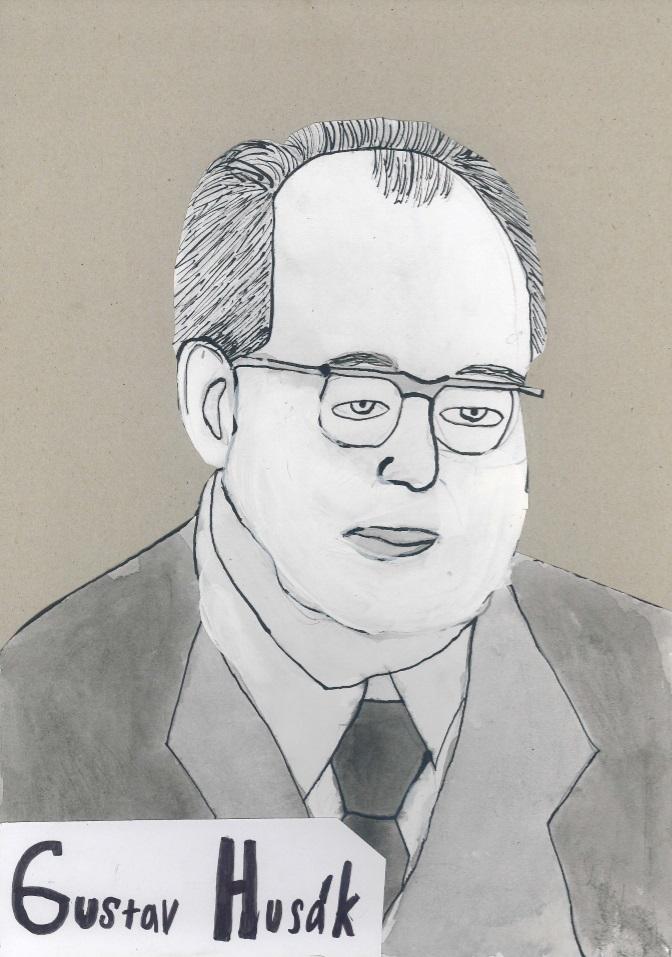 Gustav Husák_Adam Horáček