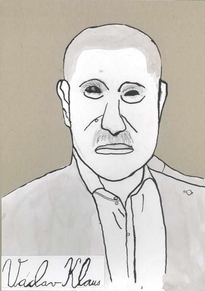 Václav Klaus_Michal Pešek